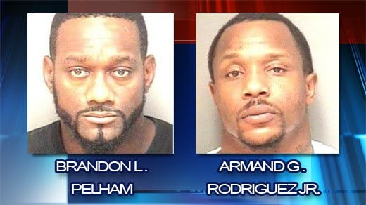 Two Men Arrested on Drug and Gun Charges in Albemarle County