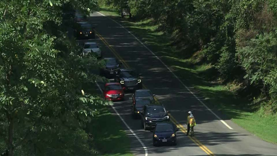Traffic Back Open on Rt  53 in Albemarle Co  After Delay - WVIR