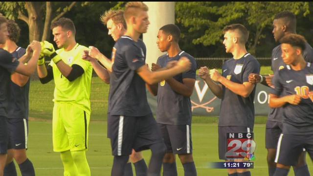 #12 UVa Men's Soccer plays Siena to 1-1 Draw