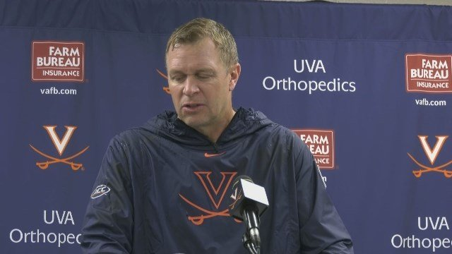 Bronco Mendenhall's Postgame Reaction after UVa's win at