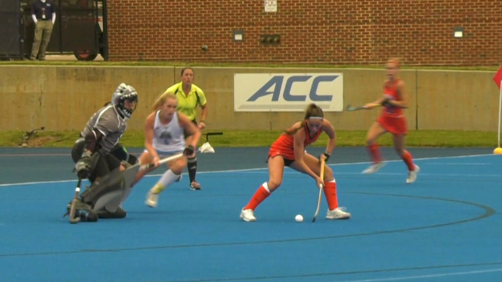Annie McDonough scored the game-winning goal