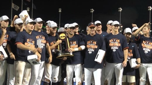 Hoos Set Starting Pitching Rotation Hungry For Another Champio Wvir Nbc29 Charlottesville News Sports And Weather